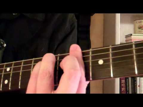 How To Play the Bb (B Flat) Minor Chord  or (Ab) Ab Sharp On Guitar