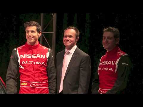Nissan Australia CEO speaks at launch of Nissan Altima V8 Supercar