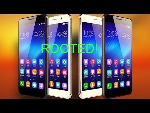 Получение Root на Huawei Honor 6