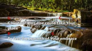 Draw Me Close To You (Lyrics & Chords) Michael W Smith