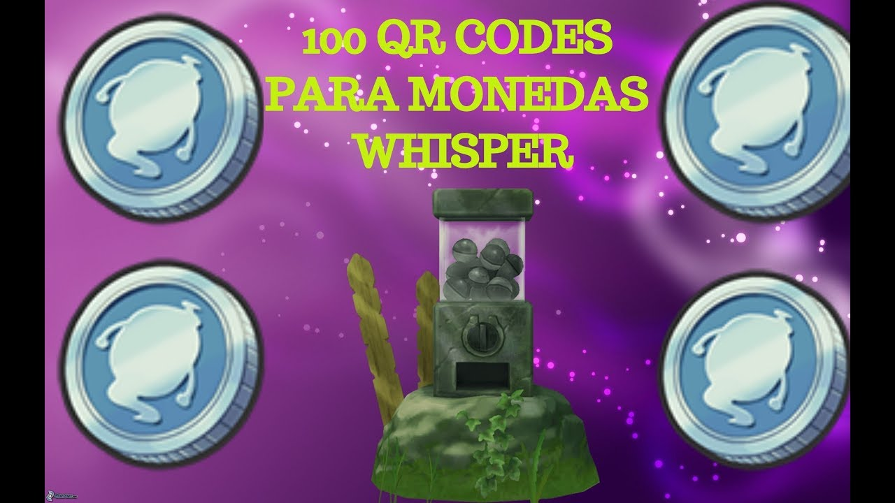 100 Qr Codes Para La Moneda Whisper Yokai Watch 2 Youtube