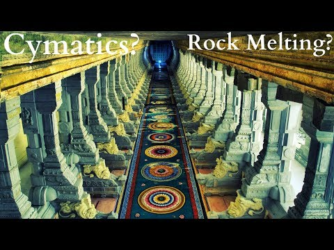 How do the Musical Pillars Work? Rock Melting Technology? Cymatics?