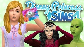 Secret Alien Encounter..?? 👽 | Ep. 25 | Sims 4 Disney Princess Challenge