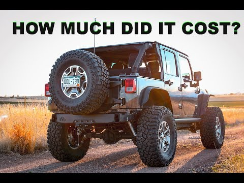 WHAT DOES IT COST TO RUN 37s ON A JEEP WRANGLER?