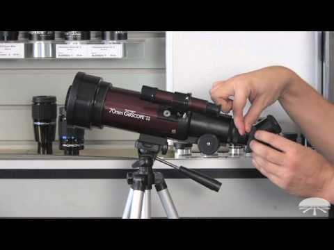 How to Set Up Orion GoScope II 70mm Refractor Travel Telescope - Orion Telescopes