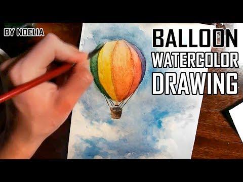Drawing A Balloon / Рисуем воздушный шар