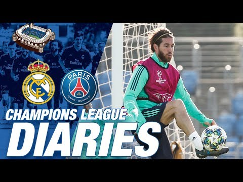 Champions League diary | Real Madrid vs PSG (Day One)