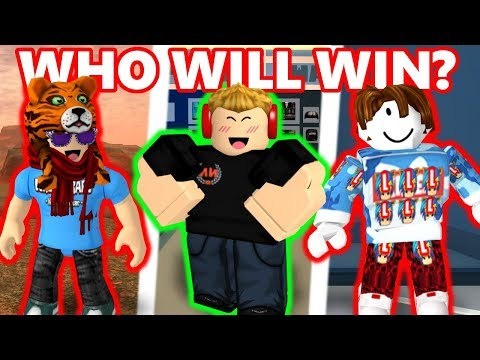 KREEKCRAFT Vs NUBNEB Vs MYUSERNAMESTHIS | Ultimate Roblox Jailbreak Competition