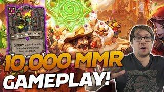 THE GAME WHERE WE BROKE 10K MMR! | Hearthstone Battlegrounds | Savjz