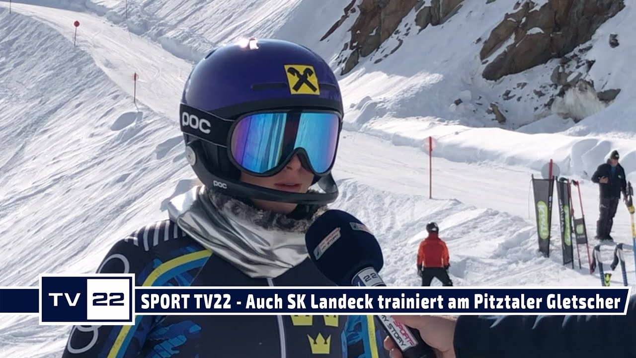 SPORT TV22: Auch der SK Landeck trainiert am Pitztaler Gletscher