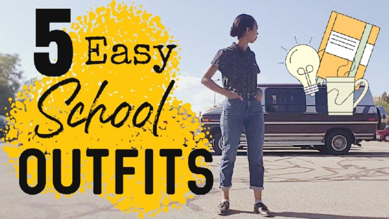 cute & easy school outfits that work for ALL GIRLS :)