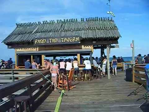Cocoa Beach Pier Fishing Florida Fl Beautiful Day Fisherman