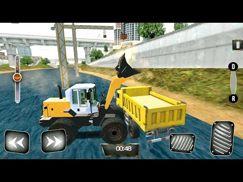 City Construction Builder: Tractors, Dozers, Diggers, Loaders Driving - Android Gameplay