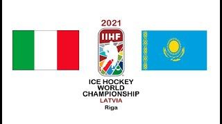 Италия Казахстан прямой эфир хоккей 29 05 2021 прямая трансляция Чемпионат Мира смотреть онлайн