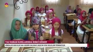 Yaz kursları cıvıl cıvıl - TRT DİYANET 2017 Video