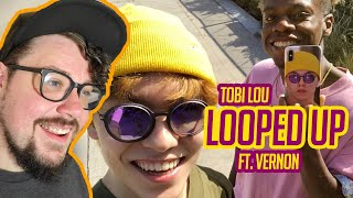Mikey Reacts to Tobi Lou - Looped Up Ft.Vernon of SEVENTEEN