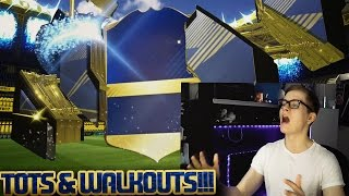 FIFA 17: OMG 3x TOTS & 3x WALKOUT PACK OPENING! ⛔️🔥😎 - ULTIMATE TEAM - BEAST TEAM OF THE SEASON!