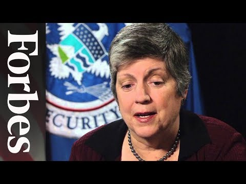 Janet Napolitano's Advice To Her Younger Self | Forbes