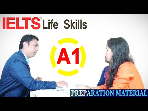 ✔ IELTS Life Skills – A1 Speaking and Listening (Sample Test 1)