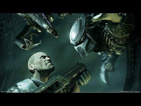 Aliens vs Predator 2010   Film CZ (Game Movie)