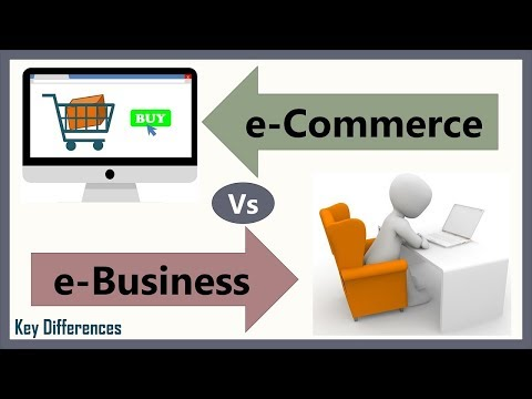 E-Commerce Vs E-Business: Difference Between Them With Definition, Types & Comparison Chart