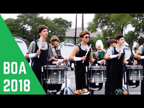 Cedar Park Drumline 2018 BOA Austin