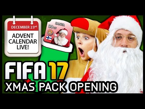 ADVENT CALENDAR PACK OPENING LIVE! (feat. Hashtag Harry's FUT Champs Monthly Rewards!)