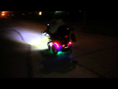 Night time light setup on my Quantum R4000