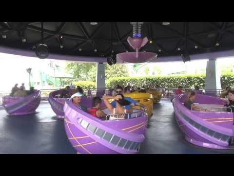 Islands Of Adventure Storm Force Accelatron POV On-Ride Universal Florida