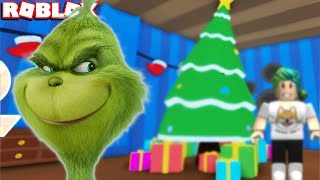 THE GRINCH STEALS 1,000,000 PRESENTS in ROBLOX The Grinch Obby