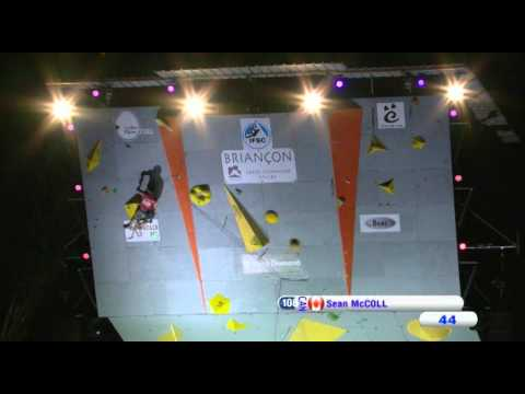 IFSC Climbing World Cup Briançon 2012 - Lead - Replay Men's Final