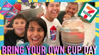 BRING YOUR OWN CUP DAY AT 7-ELEVEN