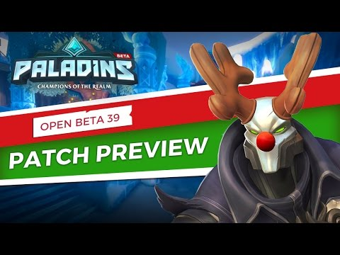Paladins - Patch Preview - Open Beta 39