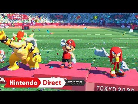 マリオ&ソニック AT 東京2020オリンピック™:E3 2019 出展映像