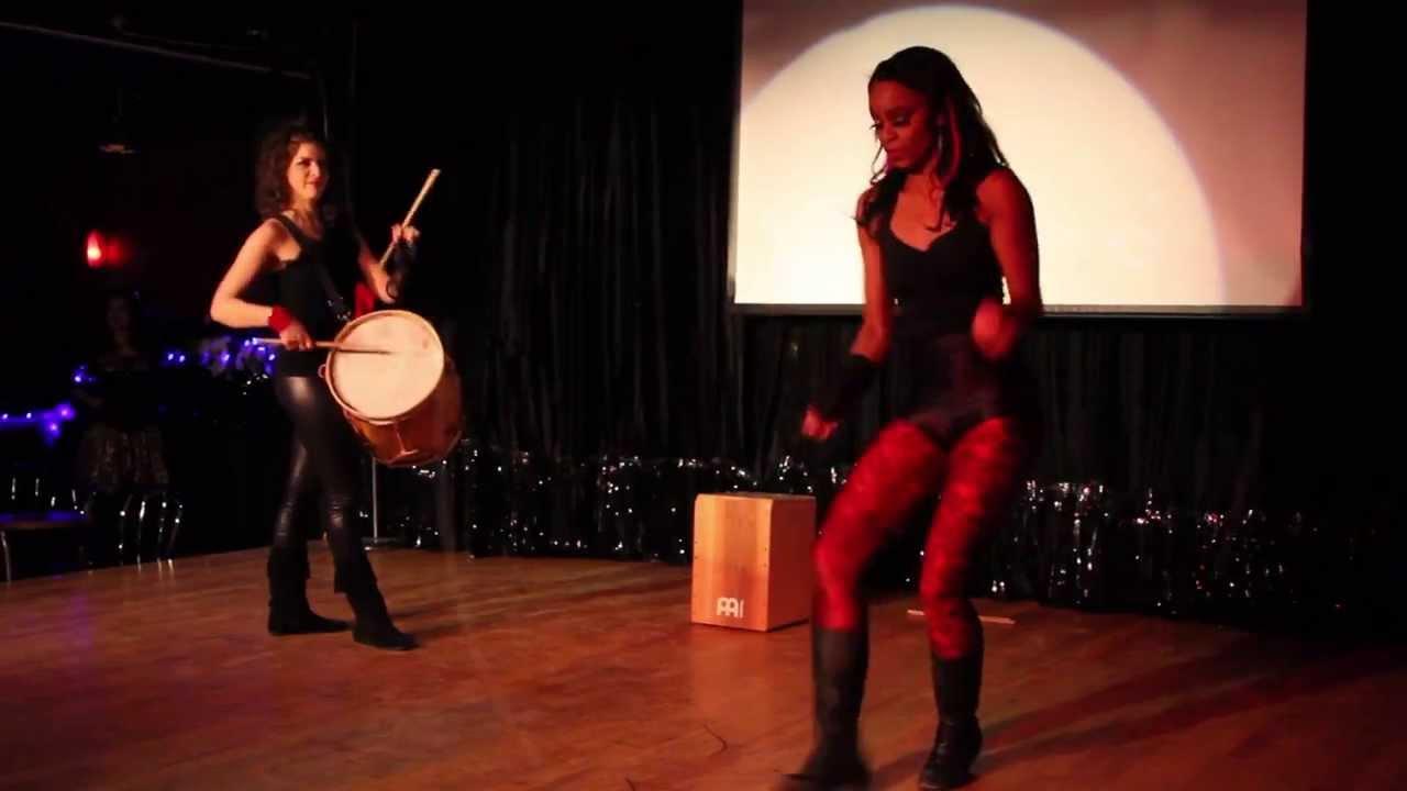 Boleadoras/Cajón/Bombo | Sarah Louis-Jean and Marise Demers
