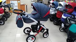 Купить детскую коляску Bebe-mobile Mario. Модель устарела, но по-прежнему популярна.