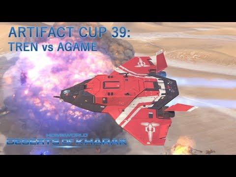 Tren vs Agame: Artifact Cup 39: Homeworld Deserts of Kharak |