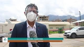 Hospital de Huaraz recibió un nuevo equipo envasador de oxígeno