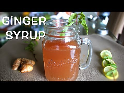 ginger-syrup-/-healthy-summer-drink