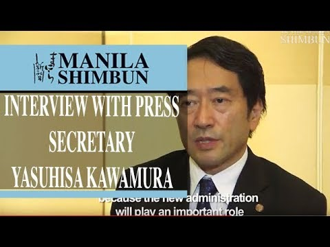 Interview with Press Secretary Yasuhisa Kawamura, Ministry of Foreign Affairs of Japan