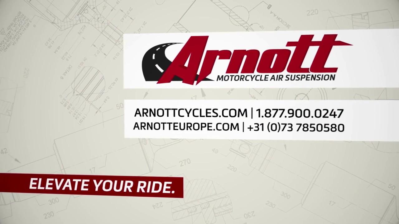 Arnott® Motorcycle Air Suspension