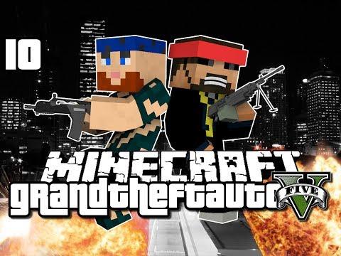 Minecraft Grand Theft Auto Mod 10 - NEW SERVER ADDITION (GTA 5)