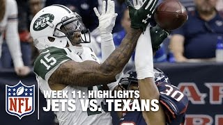 Jets vs. Texans | Week 11 Highlights | NFL