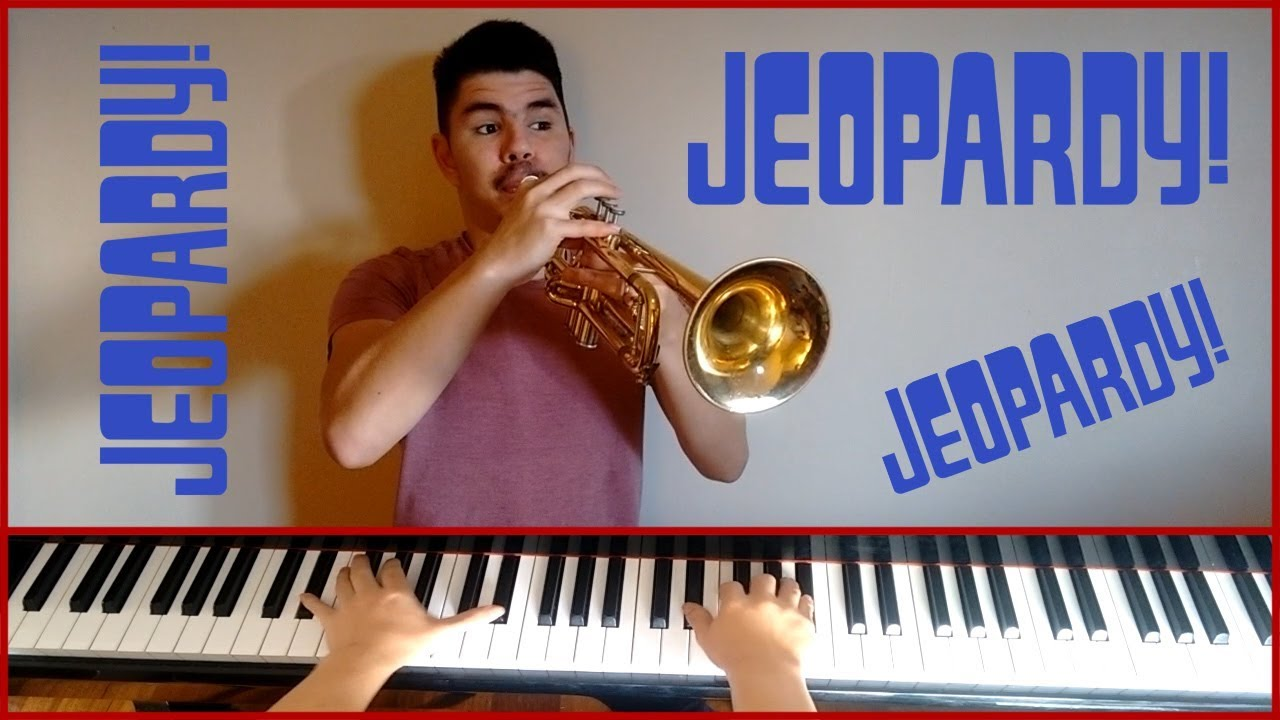 Jeopardy Think Music Piano And Trumpet Cover Wsheet Music Youtube