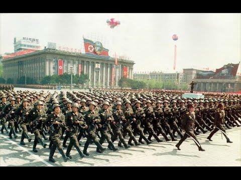 North Korea Military Parade April 25, 1992 (KCTV Live)