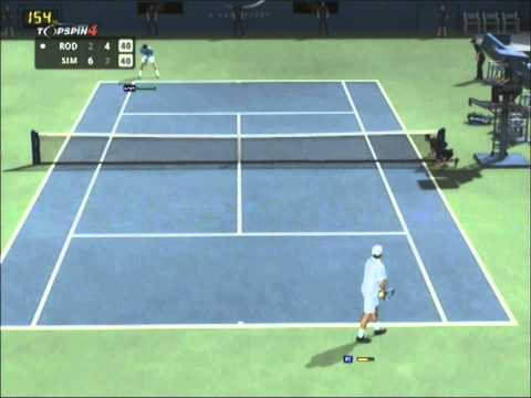 Andy Roddick vs Gilles Simon - US Open 2013 Semi Final - Top Spin 4
