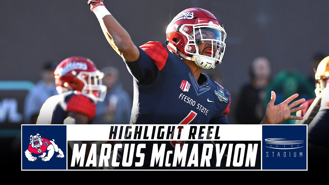 Marcus McMaryion Fresno State Football Highlights - 2018 Season   Stadium