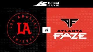 @LA Thieves Vs @Atlanta FaZe | Stage V Week 2 — Minnesota Home Series | Day 2