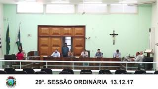Sessão da Câmara 13.12.17
