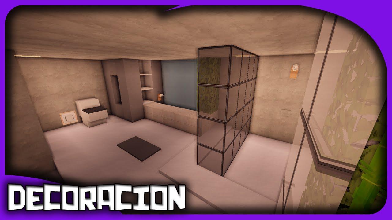Como Decorar Una Casa Moderna En Minecraft Tutorial Youtube - Como-decorar-una-casa-moderna